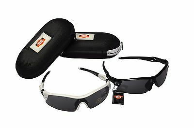SS HERITAGE CRICKET / SPORTS SUNGLASSES +CASE+ UV PROTECT+OZ Stock+FREE SHIP