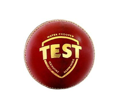 SG TEST Red 4 Piece TEST QUALITY LEATHER Cricket Ball+ OZ Stock + FREE SHIP