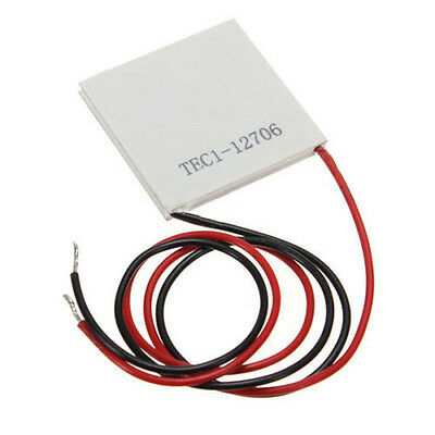 Professional TEC1-12706 40x40mm Thermoelectric Cooler Peltier Plate Module 12V