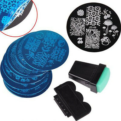 10 Set New Nail Art Stamp Template Image Polish Stamping Plates Manicure Stencil