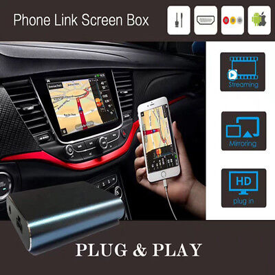 2017 Car Miracast Airplay Android IOS Mirror Link Adapter Smartphone Screen New
