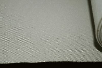 "LIGHT GREY CAR TRIMMING ROOF/HEAD LINING 3mm FOAM BACKED FABRIC per mtr  56"" RL8"