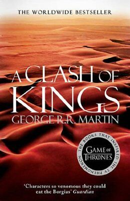 A Clash of Kings by George R. R. Martin (Paperback, 2014) NEW