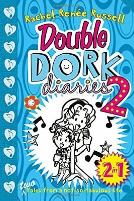 Double Dork Diaries #2 by Rachel Renee Russell New Paperback Book