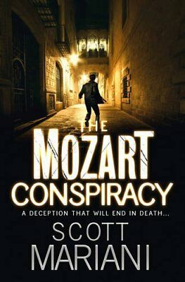 The Mozart Conspiracy by Scott Mariani (Paperback, 2011)
