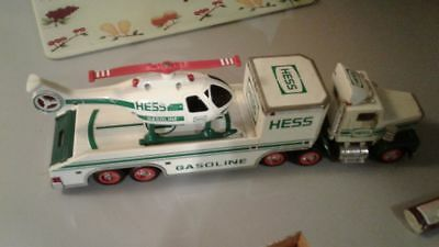1995 Hess Toy Truck and Helicopter Brand