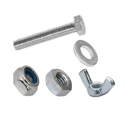 Set Screws Full Thread Bolts With Nuts And Washers  M6 M8 M10 Bzp Bolt