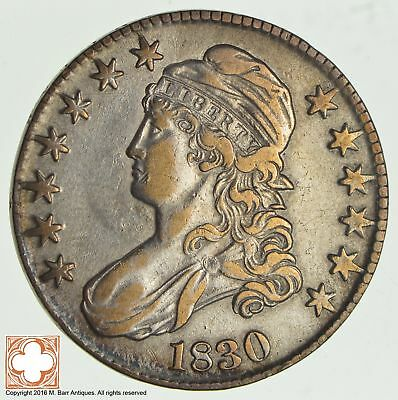 1830 Capped Busted Half Dollar *2807