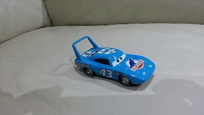 CARS - THE KING - Loose Mattel Disney Pixar SFUSO NUOVO dinoco