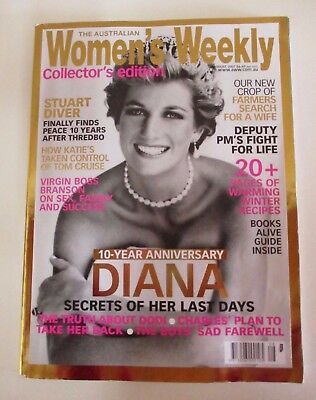 Diana: 10 Year Anniversary Collector's Edition - Australian Women's Weekly -2007