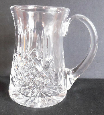 Lovely Royal Doulton 500ml Crystal Tankard