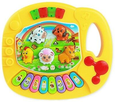 OVERMAL Baby Kids Musical Educational Animal Farm Piano Developmental Music Toy