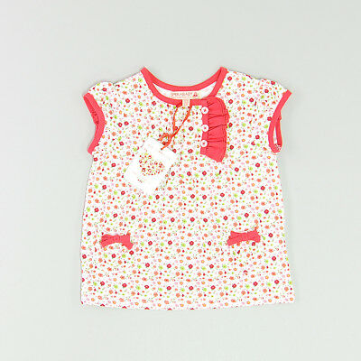 Camiseta color Blanco marca Sfera 12 Meses