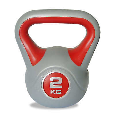 BodyPower™  Vinyl Kettlebell - Select Your Weight 2kg to 8kg