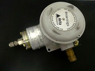 Delta Controls Hs210Gdb03A Flameproof Pressure Switch 0.25 To 1.6 Bar