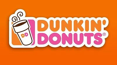 Dunkin Donuts $100 Physical Card - ->READ DETAILS<- BEFORE BUYING(Fast Delivery)