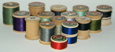 Sewing Thread - Wooden Spools from Coats & Clark's