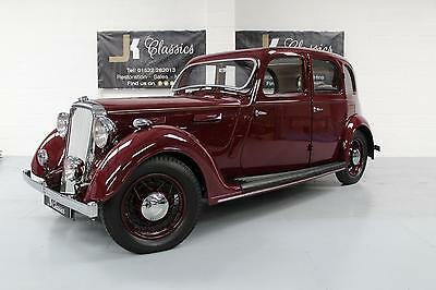 1938 ROVER 16 P2 Full Nut and Bolt Restoration, Classic in Maroon