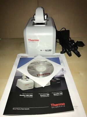 Thermo Scientific NanoDrop ND-2000 UV-Vis Spectrophotometer with Software