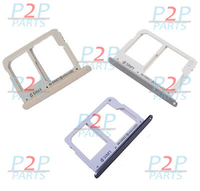 Sim Tray Micro SD Tray Slot Holder For Samsung Galaxy A3 A310 A5 A510 A710 UK