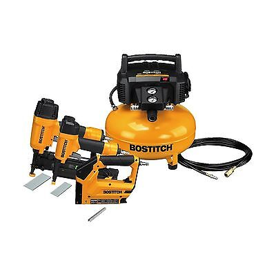 BOSTITCH BTFP3KIT 3-Tool and Compressor Combo Kit 3-tool/compressor combo...