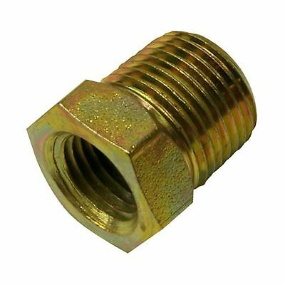 "Apache 39035474 3/8"" Male Pipe x 1/4"" Female Pipe Hydraulic Adapter New"