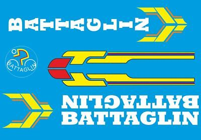 0302 Battaglin Bicycle Stickers Transfers Decals