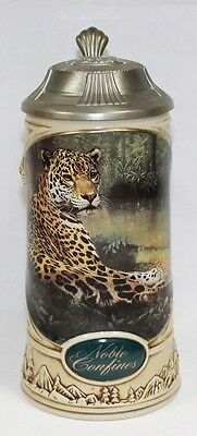 Noble Confines Charles Frace Longton Crown Lidded Stein