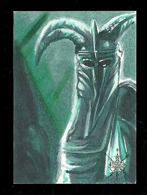 The Hobbit The Battle of the Five Armies 1/1 Fine Art Sketch by Rich Molinelli #