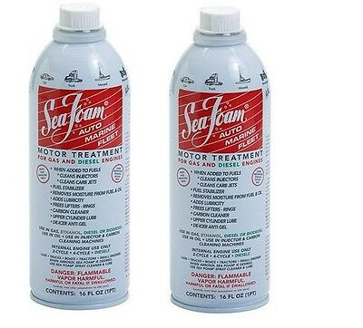 2-Sea Foam SF-16 Motor Treatment - 16 oz. x 2  FREE SHIPPING