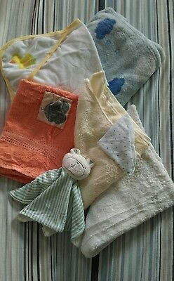 babys blanket and bathtime towel bundle