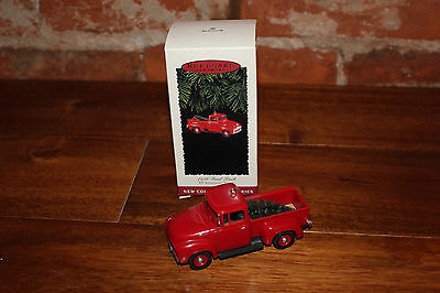 All American Trucks #1 1956 Ford Truck Hallmark Collectors Series Ornament