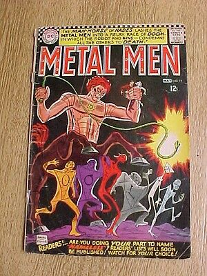 1966 Metal Men #19 Dc Comics