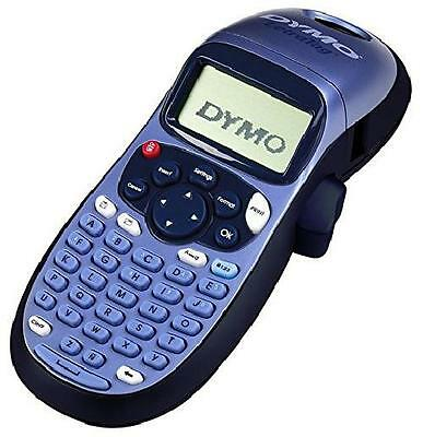 Dymo S0883980 LetraTag LT-100H Label Maker ABC Keyboard - Black/Blue Top Quality