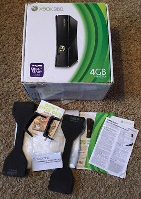 Xbox 360 Slim 4Gb ☆ Empty Box Only - No Console ☆ Ships Today!