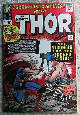 Journey Into Mystery #114 - 1St Absorbing Man - Thor