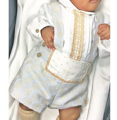 Spanish Traditional Romany Gypsy Baby Boy Outfit 3m