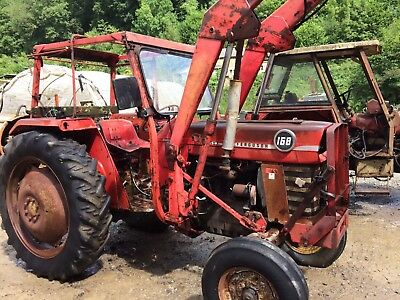 Massy Ferguson 168 Tractor With Loader
