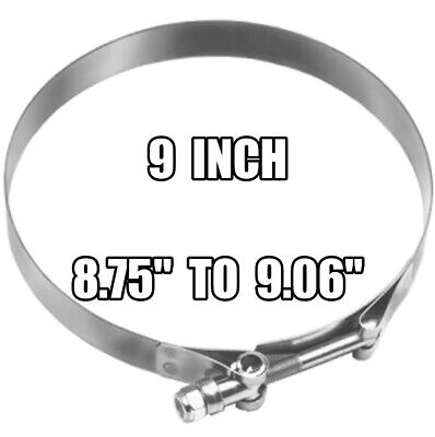 DIXON 9 inch Stainless Steel T-Bolt Hose Clamp - STBC900