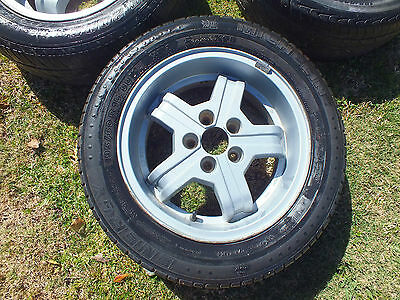 Volvo Genuine Alloy wheels & tyres 195/60R 15 88H German Made suit many models