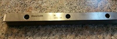 QTY. 2  Rexroth 15mm Wide  184mm Linear Guide Rail