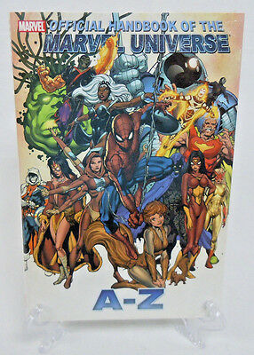 Official Handbook of the Marvel Universe A to Z Vol 11 Hard Cover New Sealed HC