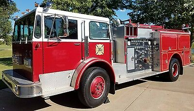 1976 Warner & Swasey - Pierce Pumper Fire Truck