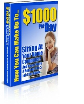 How You Can Make Up To $1000 Per Day with Resell Rights