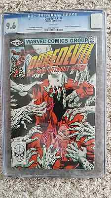 Daredevil 180 CGC 9.6 White Pages Frank Miller