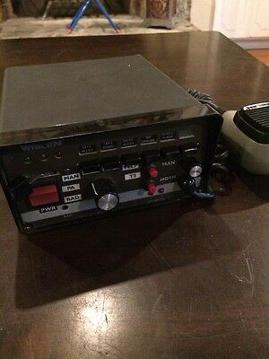 WHELEN  Model 295HFSA6 SIREN/POWER CONTROL CENTER