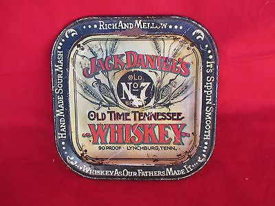 Vintage JACK DANIELS Old Time Tennessee Whiskey Metal Tip Change Tray Collectors