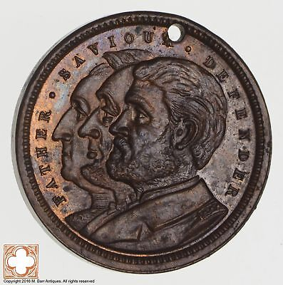 1897 Let Us Have Peace / Grant, Lincoln, Washington Token *6839