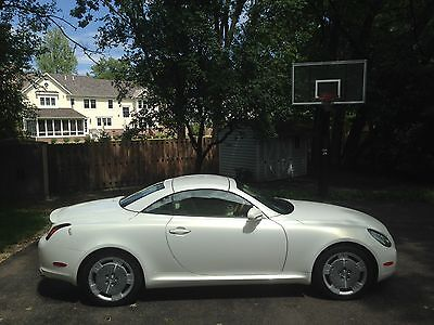 2004 Lexus SC Base Convertible 2-Door 2004 Lexus SC430 Base Convertible 2-Door 4.3L (Pearl White)