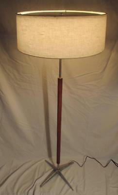 Mid Century Modern Gerald Thurston for Lightolier Floor Lamp Vintage MCM